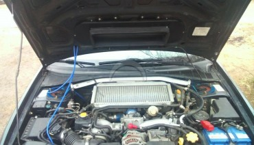 Hood Scoop Splitter for Subaru Impreza WRX 05-07 eagle eye & GDB STi intercooler