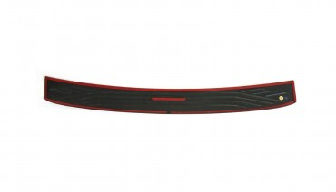 Rear bumper trim for Ford Focus mk3 14-19 hatchback plate sill protector cover