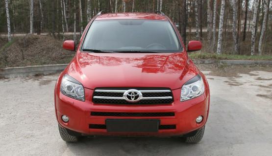 Eyelids eyebrows for Toyota Rav4 08-10 XA30 Headlights Covers eyelash