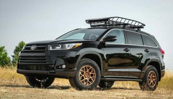 Lift Kit for Toyota Highlander 14-19 Kluger 1,8' 45mm levelin lift kit