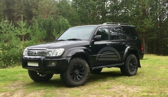 Lift Kit for Land Cruiser 100 Lexus LX470 1998-2007 1.8' 45mm Rear Coil Spacers