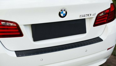 Rear bumper trim for BMW 5 f10 10-16 plate sill protector cover 520 530 550 M5