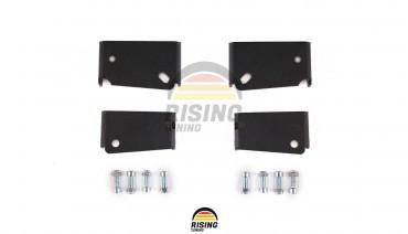 EK9 Civic 96-00 Type R Wing Spoiler Tilt Riser Lift Brackets Fully Adjustable