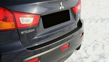 Rear bumper trim for Mitsubishi ASX 2010-2013 plate sill protector cover