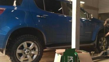 Lift Kit for Chevrolet TrailBlazer 2 2012-2019 1,6' 40mm strut spacers