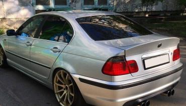 Ducktail for BMW 3 e46 Sedan CSL Style