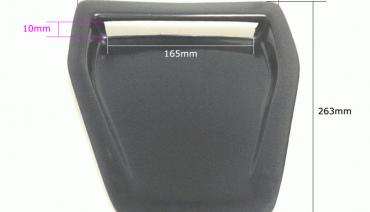 Universal Bonnet Scoop Hood Air Hood Vent Intake ABS-plastic