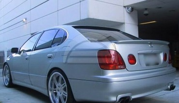 TTE ducktail for Lexus GS300 GS430 GS400 trunk spoiler Toyota Aristo lip wing
