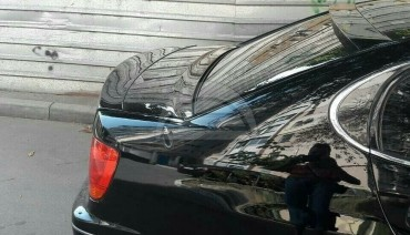 Rear Window Spoiler for Lexus GS300 Sport style Aristo roof cover pad cover