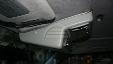 Overhead Radio Console for Mitsubishi Pajero 3 Montero 99-06 Roof CB LPD Station