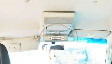Overhead Radio Console for Mitsubishi Pajero 4 Montero 06-20 Roof CB LPD Station