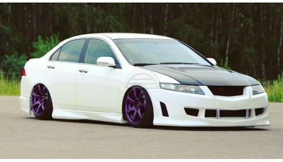 Side Skirts Mugen Style for Honda Accord 7 Acura TSX CL7 03-05 Body Kit Type-S