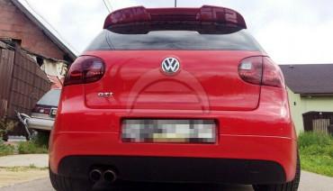 Rear Spoiler VW Golf 5 Mk5 R32 GTI Ducktail Boot Trunk Spoiler Lip Wing Duckbill