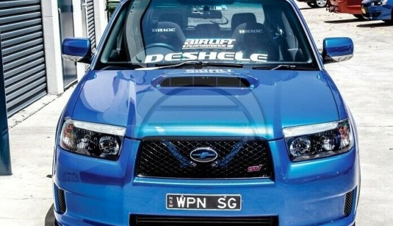 Stage21 Lip for Subaru Forester SG 05-08 CrossSports Sti Bumper Splitter SG9 SG5