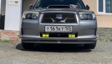Painted STi Lip for Subaru Forester SG 05-08 Cross Sports Bumper Splitter SG9