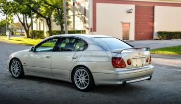 Rear Tom'S Bumper Pad for Lexus GS300 GS430 97-05 Toyota Aristo Diffuser