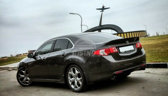Ducktail spoiler for Honda Accord 8 Acura TSX 08-13 rear boot trunk lip wing