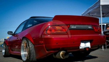 Ducktail for Nissan 180sx 200sx 240sx trunk spoiler Silvia s13 RB lip wing JDM