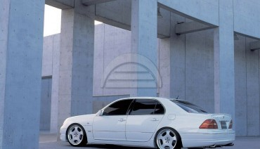 Wald side skirts for Lexus LS430 2000 - 2006 Toyota Celsior Bodykit Executive