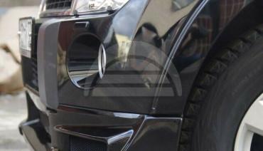 Roar Front Lip for Mitsubishi Pajero 4 2006-2011 Montero Shogun Skirt Body kit