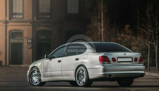 Rear Wald Lip for Lexus GS300 GS400 GS430 97-05 Toyota Aristo Bumper Diffuser