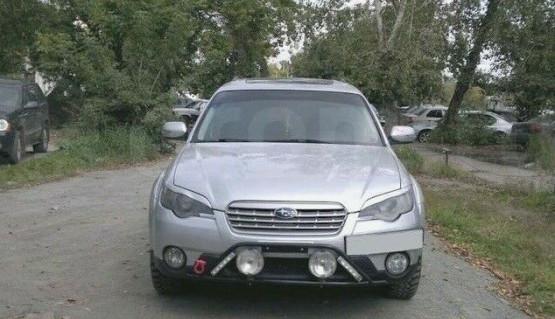 Eyelids eyebrows for Subaru Legacy / Outback 03-09