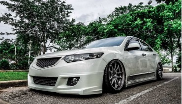 Front grill for Honda Accord 8 Acura TSX ABS