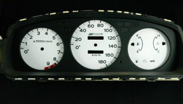 Gauge Faces Spoon style for Honda Civic EG EJ 91-95