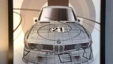 BMW E9 FRANK STELLA