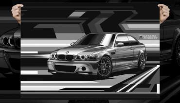 BMW M3 CSL Coupe E46