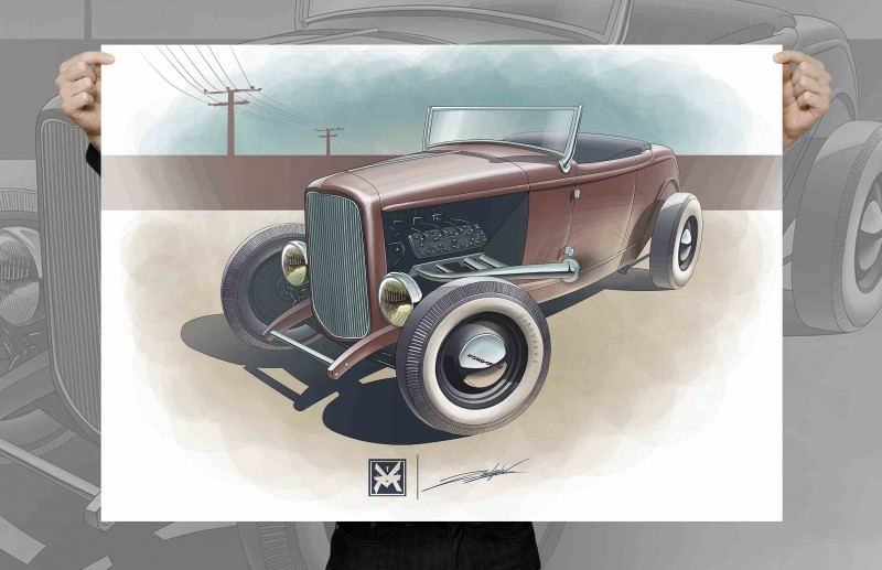 Ford Highboy 1932 Roadster