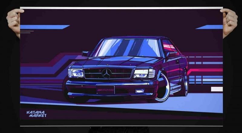 Mercedes-Benz 560 SEC AMG